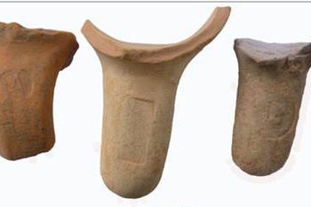 Stamped handles of commercial, pointed – base amphorae)