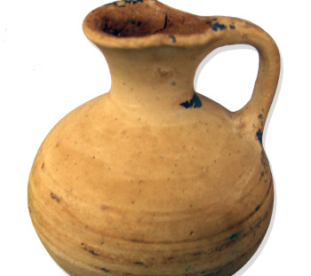 Spathes cemetery: Jug with cutaway neck of Mycenaean Age, the fist wheel made example in the area