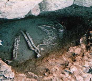 Pigi Athinas: Grave in tomb of first half of 2nd millennium B.C.