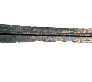 Spathes cemetery: Grave 8, bronze sword of Mycenaean Age