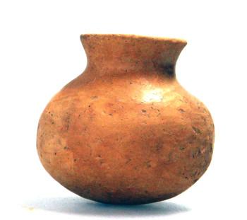 Spathes cemetery: Handmade, handless jar of Mycenaean Age
