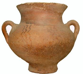Treis Elies cemetery: Wheel made amphoriskos of Early Iron Age