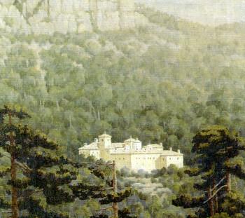 The Monastery of Saint Dionysios by B. Ithakisios
