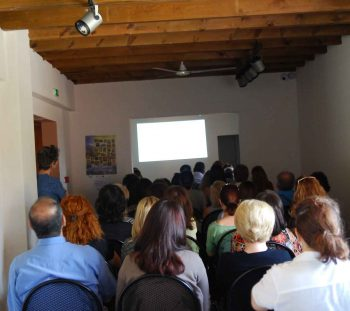 Lecture on the archaeological site of Leivithra